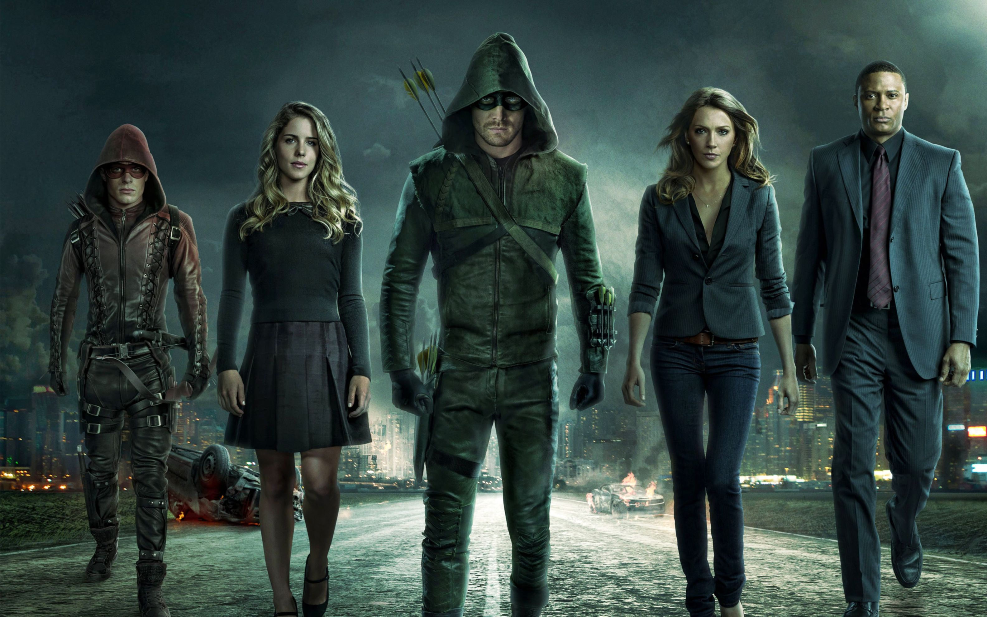Download free HD Arrow Season 3 Wide Wallpaper, image