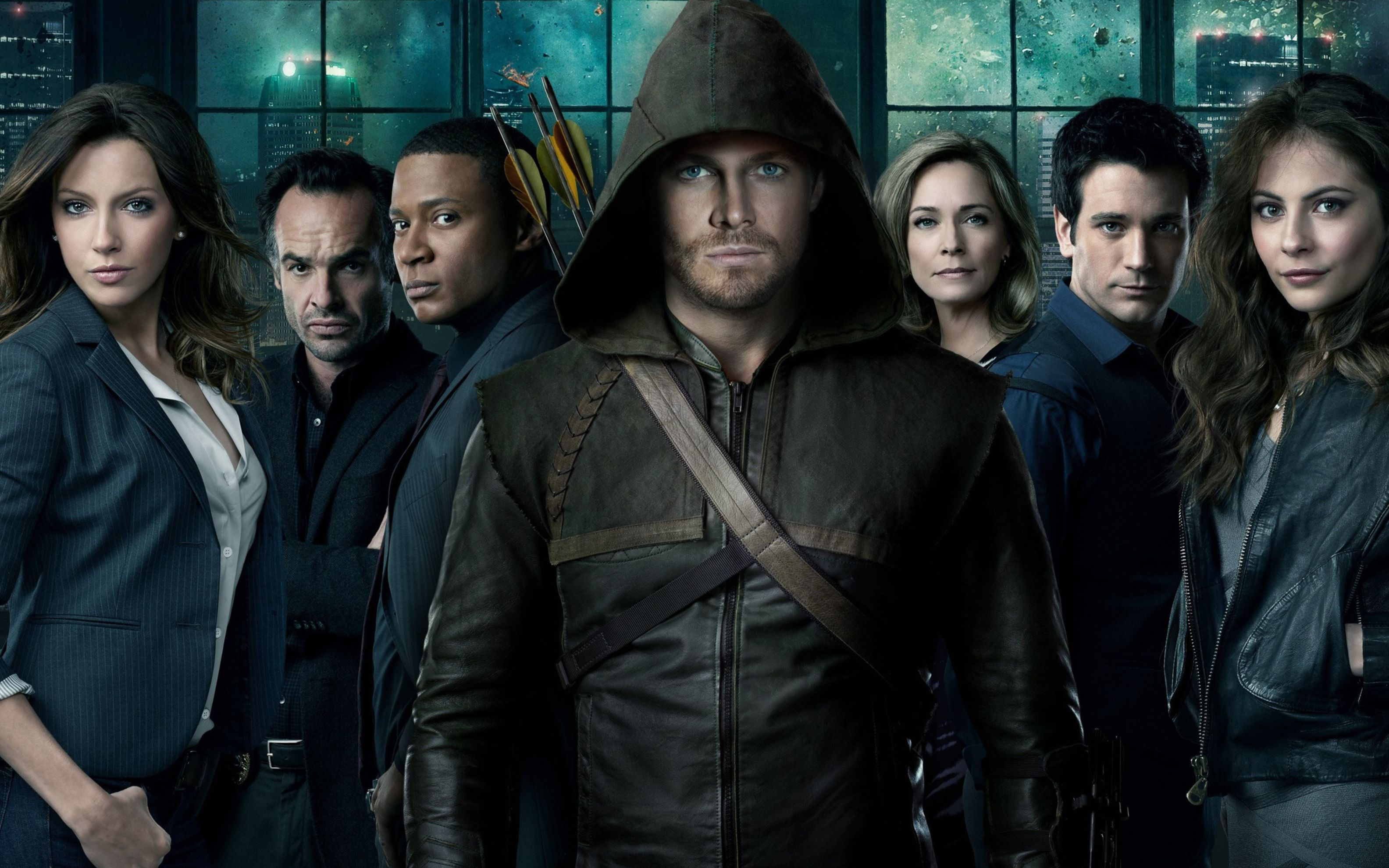 Download free HD Arrow TV Series Wide Wallpaper, image