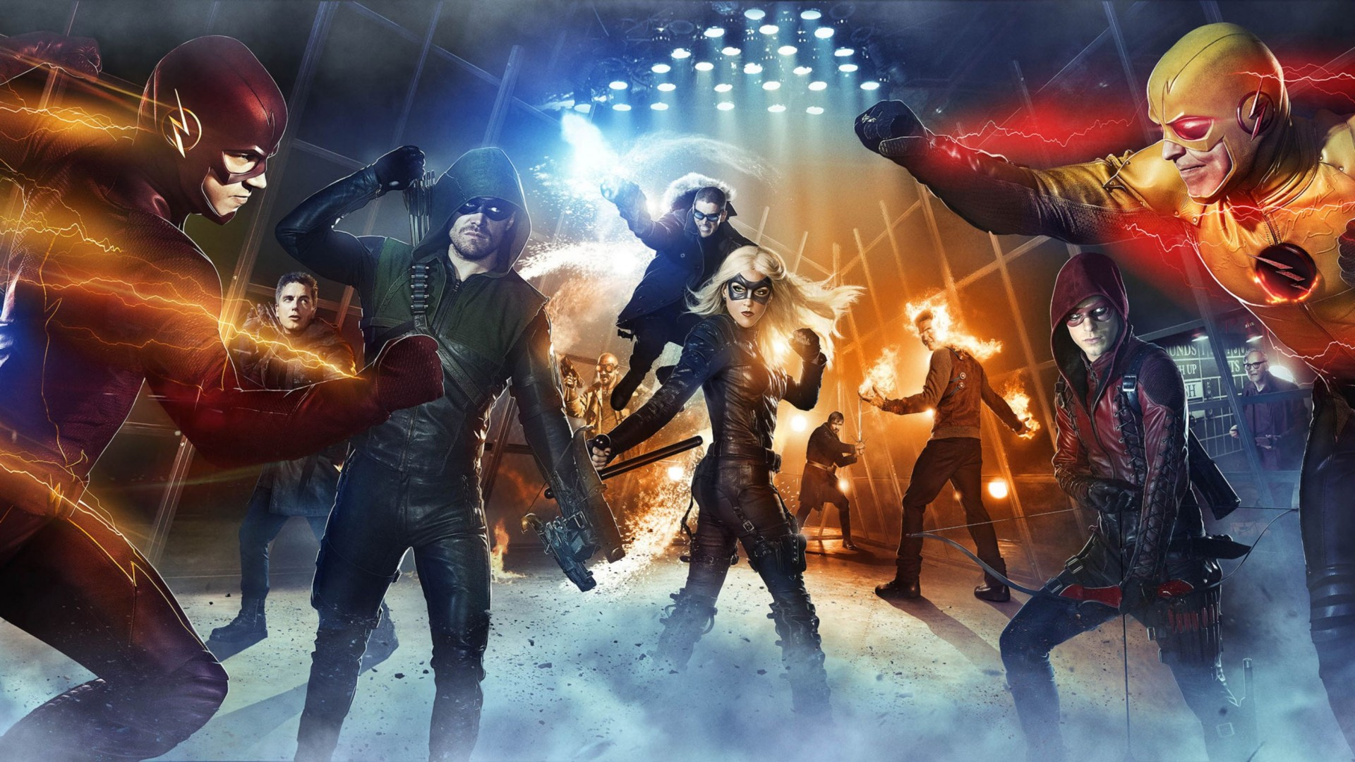 Arrow The Flash HD Wallpaper