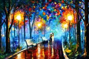 Art Paint Street HD  Wallpaper