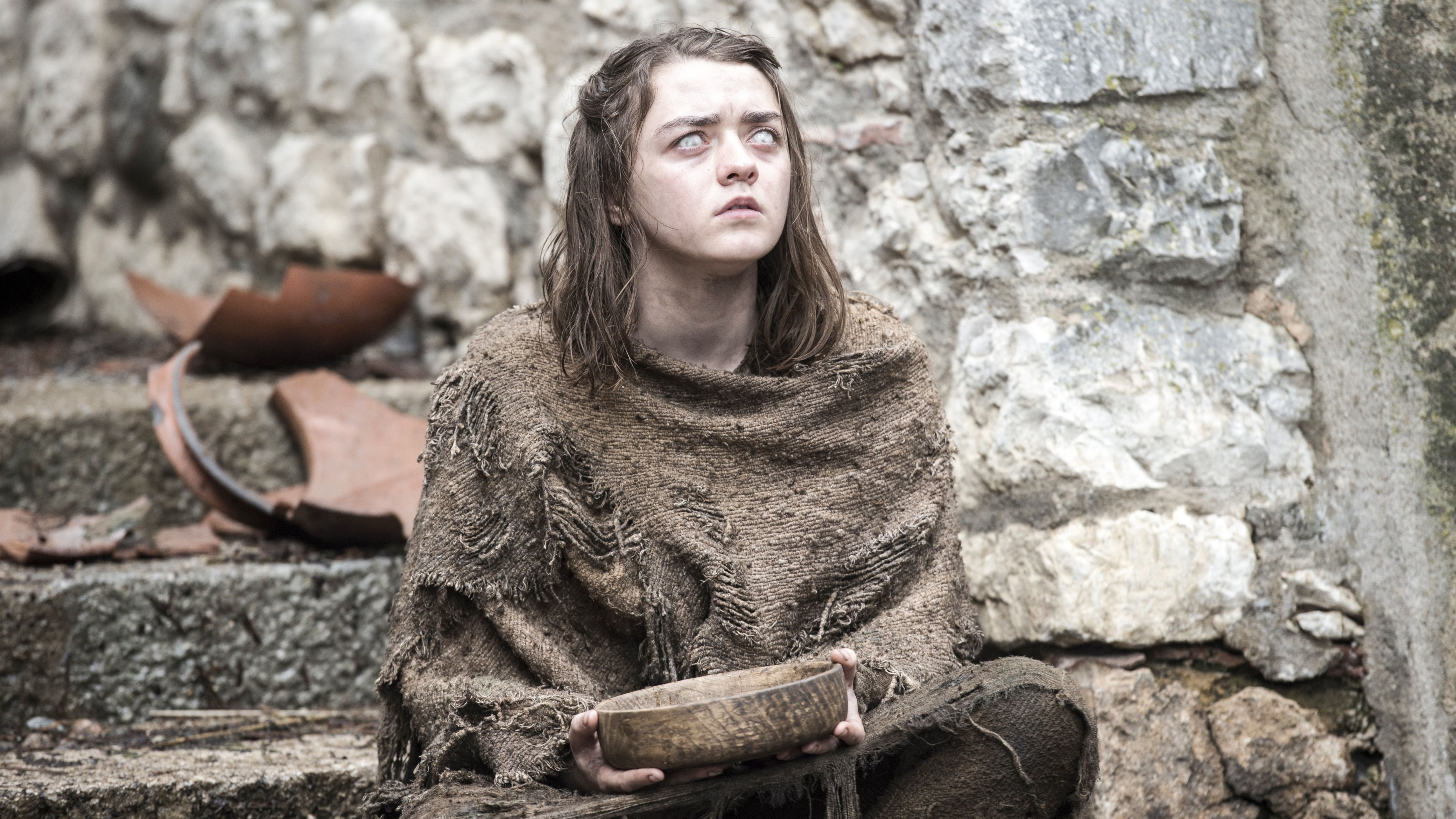 Arya Stark Game Of Thrones Season 6 HD Wallpaper