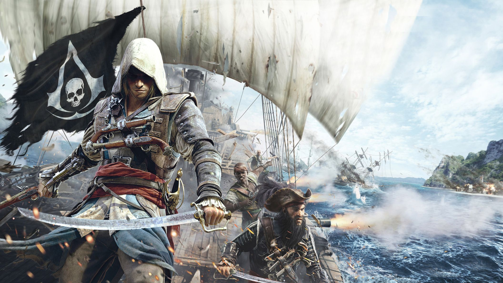 Download free HD Assassins Creed 4 Black Flag Game 2 HD Wallpaper, image