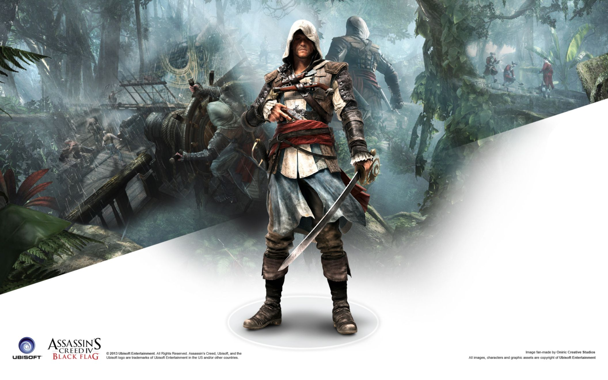 Assassins creed iv black flag game 2 wide wallpaper desktop hd assassins creed iv black flag game 2 wide wallpaper voltagebd Image collections