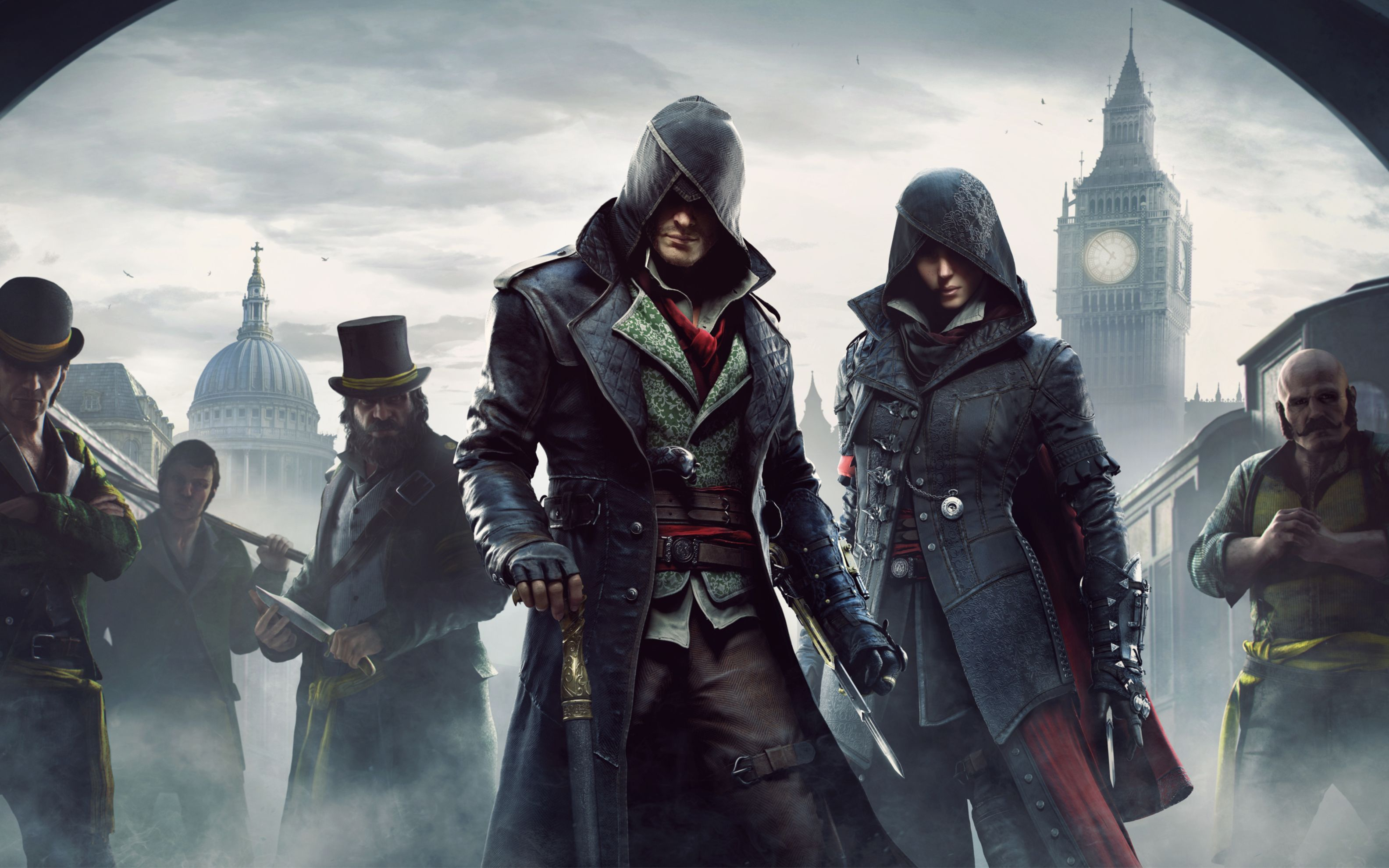 Download free HD Assassins Creed Syndicate 2015 Wide Wallpaper, image