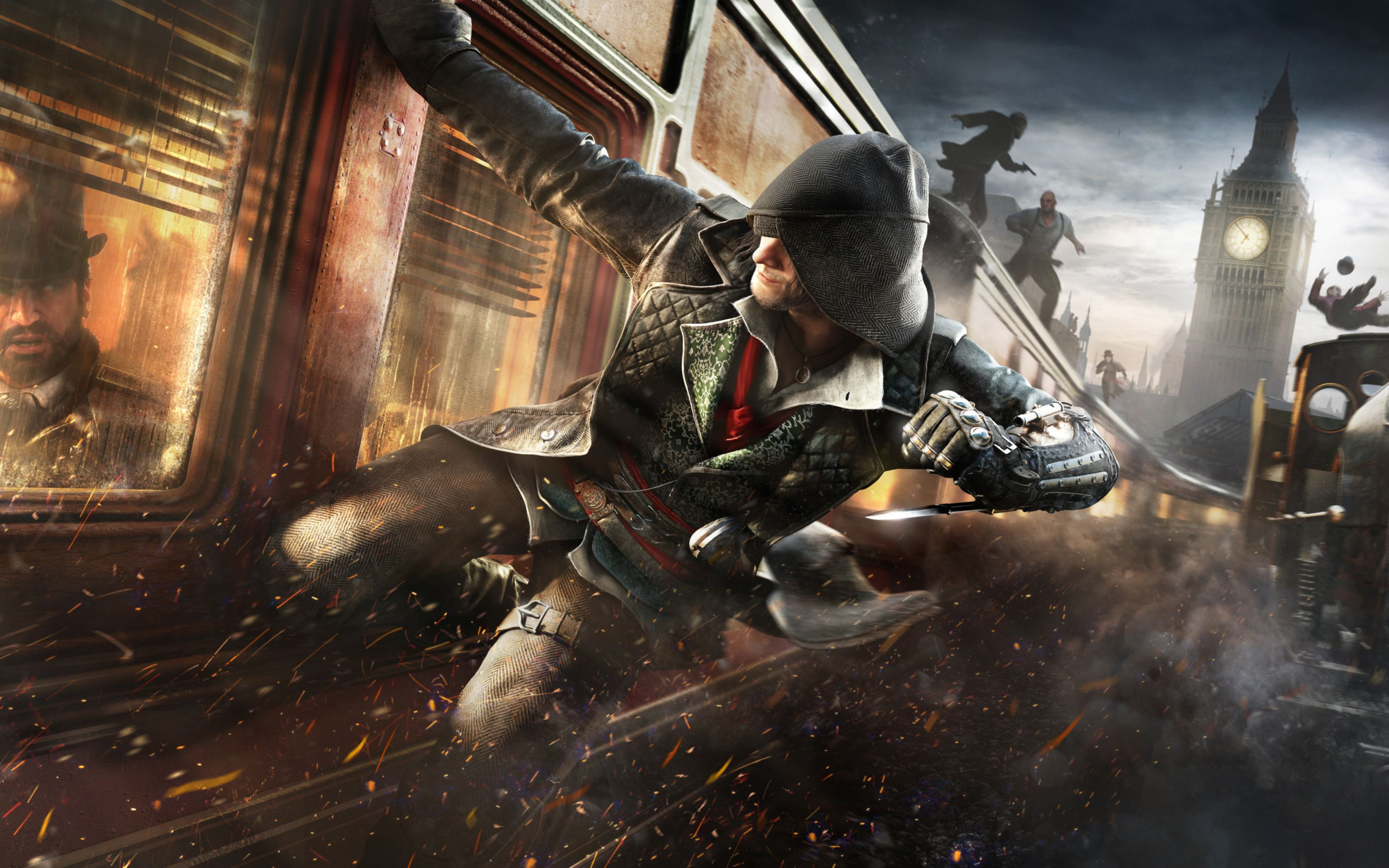 Download free HD Assassins Creed Syndicate Video Game Wide Wallpaper, image