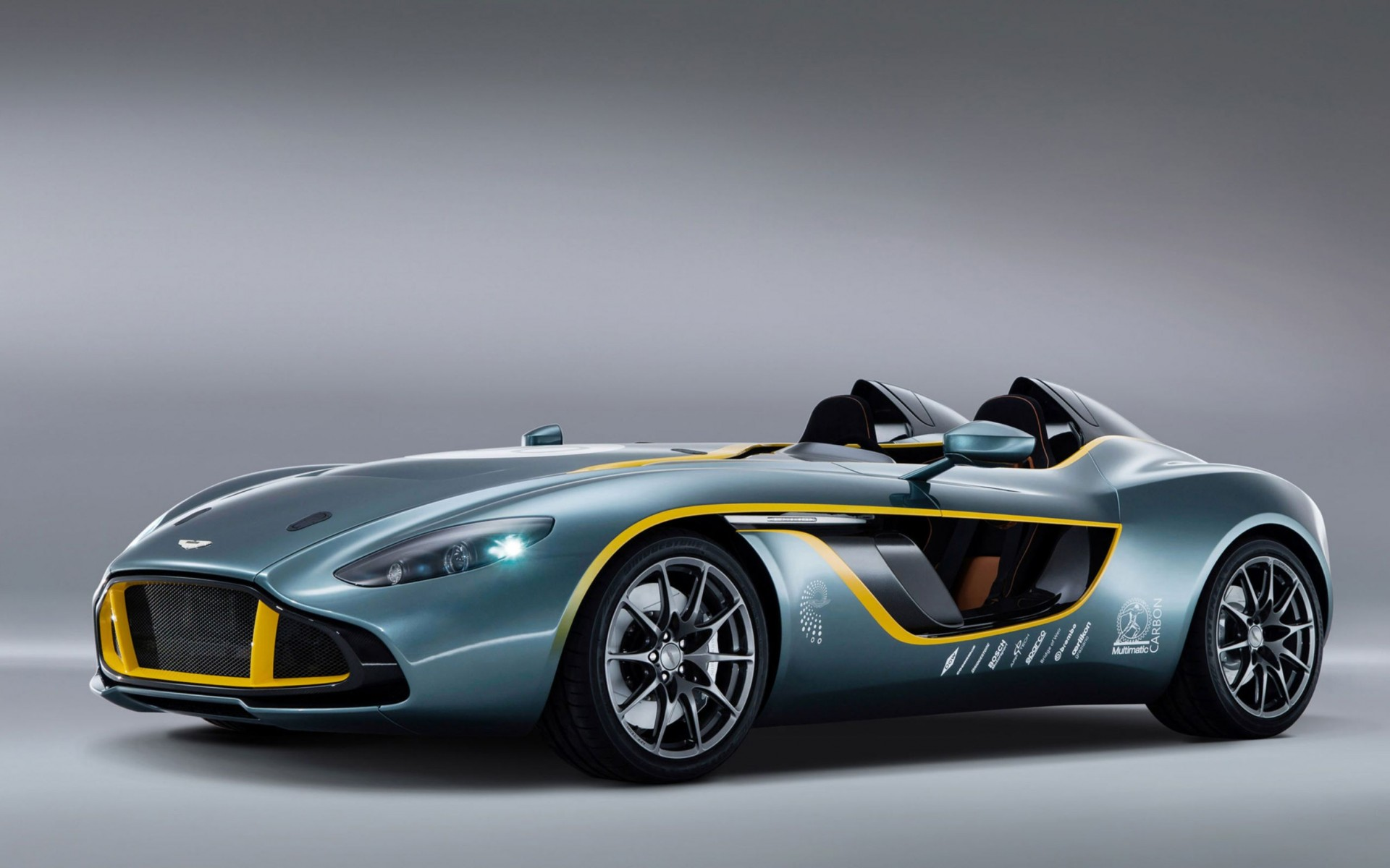 Aston Martin Cc100 Speedster Concept Wide Wallpaper