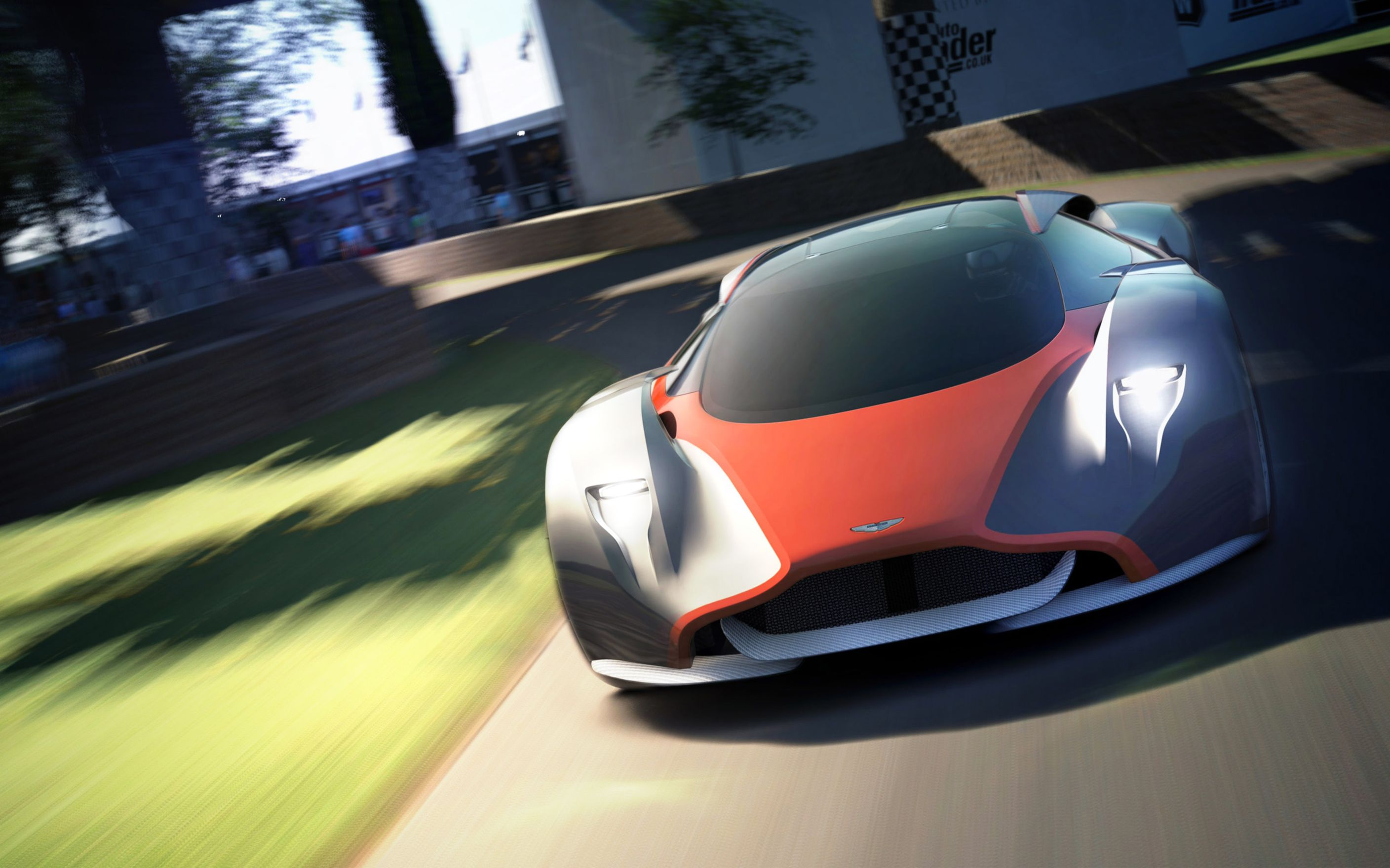 Download free HD Aston Martin DP 100 Vision Gran Turismo Concept Wide Wallpaper, image