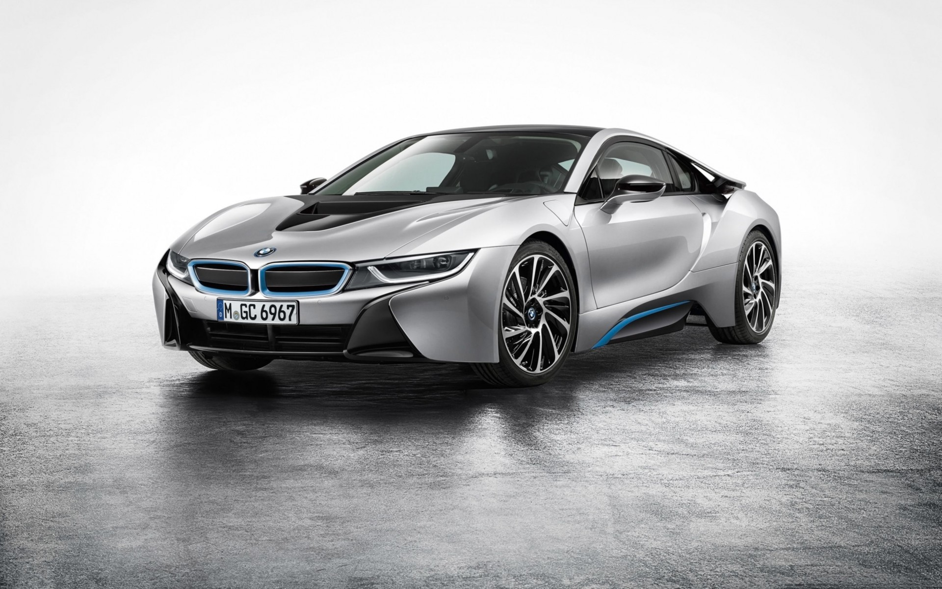 BMW I8 2015 Wide Wallpaper