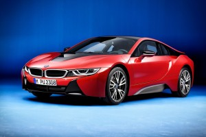 BMW I8 Protonic Red Edition 2016 Wide Wallpaper