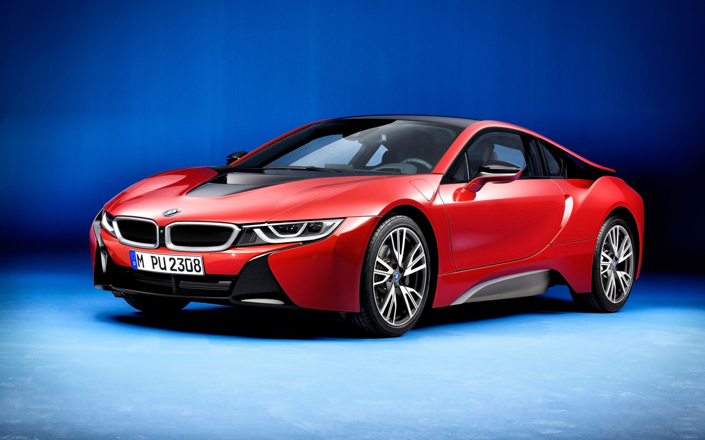 Download free HD BMW I8 Protonic Red Edition 2016 Wide Wallpaper, image