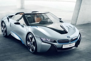 Download BMW I8 Spyder Concept Car Wide Free Wallpaper on dailyhdwallpaper.com