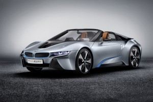 BMW I8 Spyder Wide Wallpaper