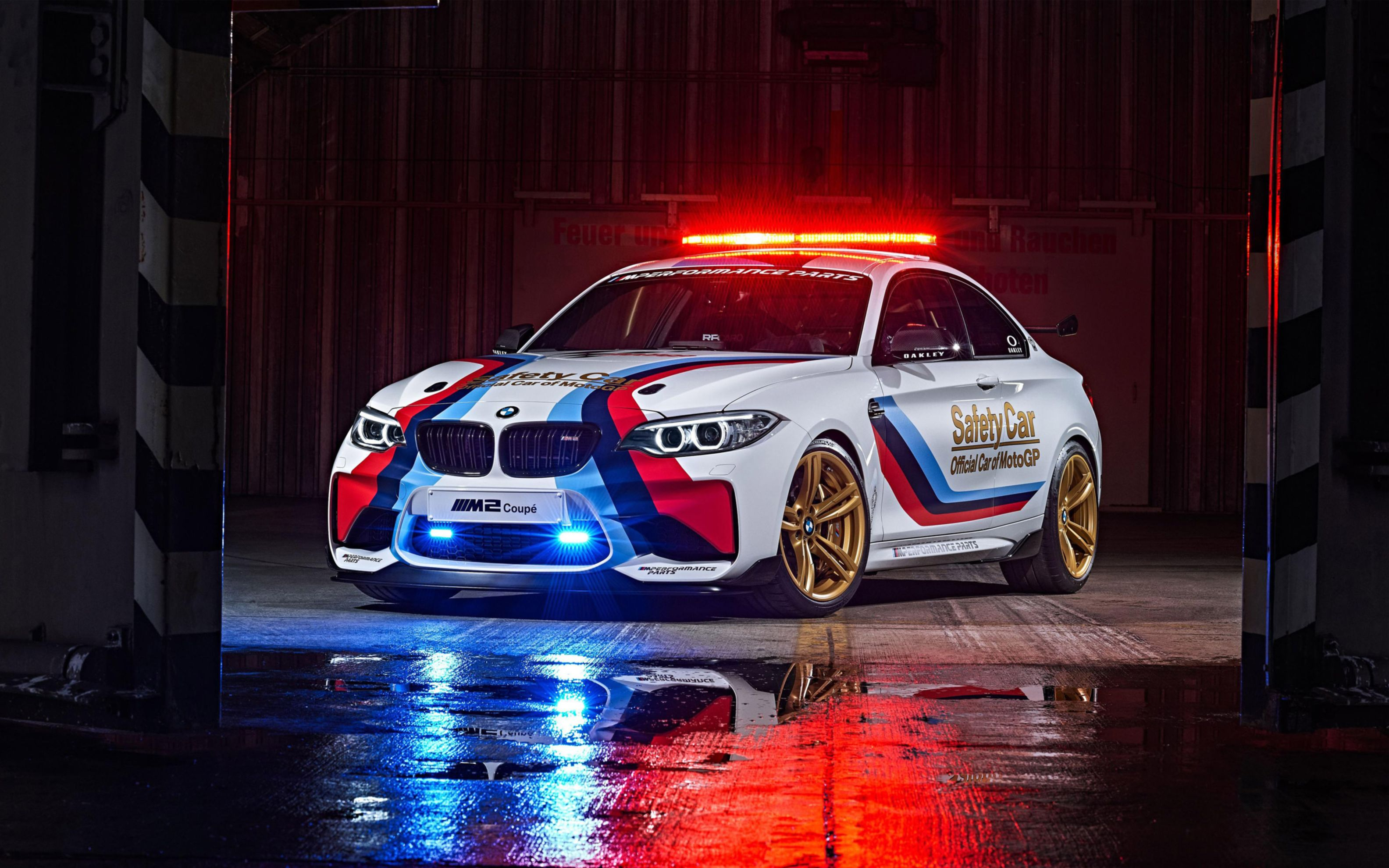 Download free HD BMW M2 Motogp Safety 2016 Wide Wallpaper, image