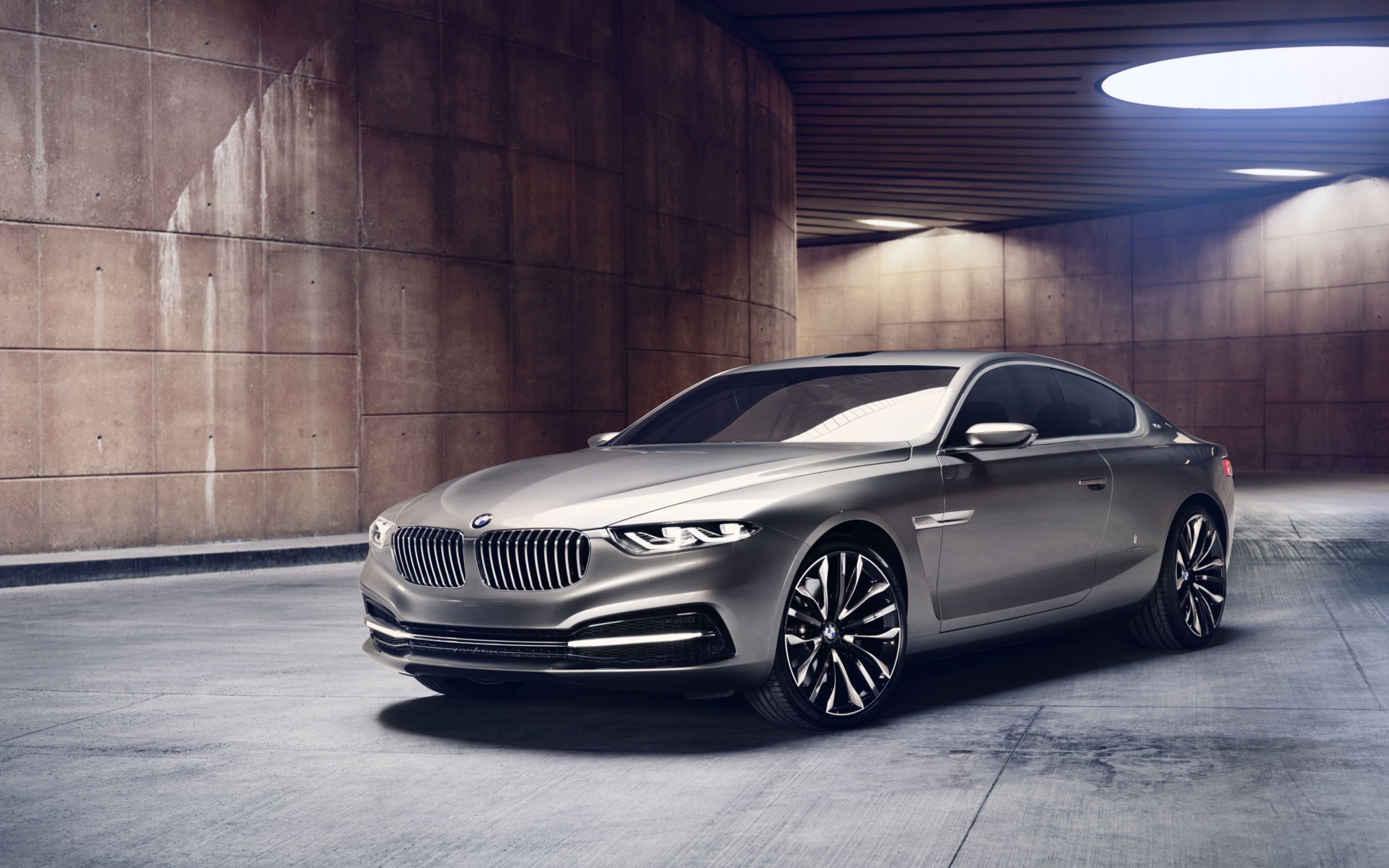 Download free HD BMW Pininfarina Gran Lusso Coupe 2013 Wide Wallpaper, image