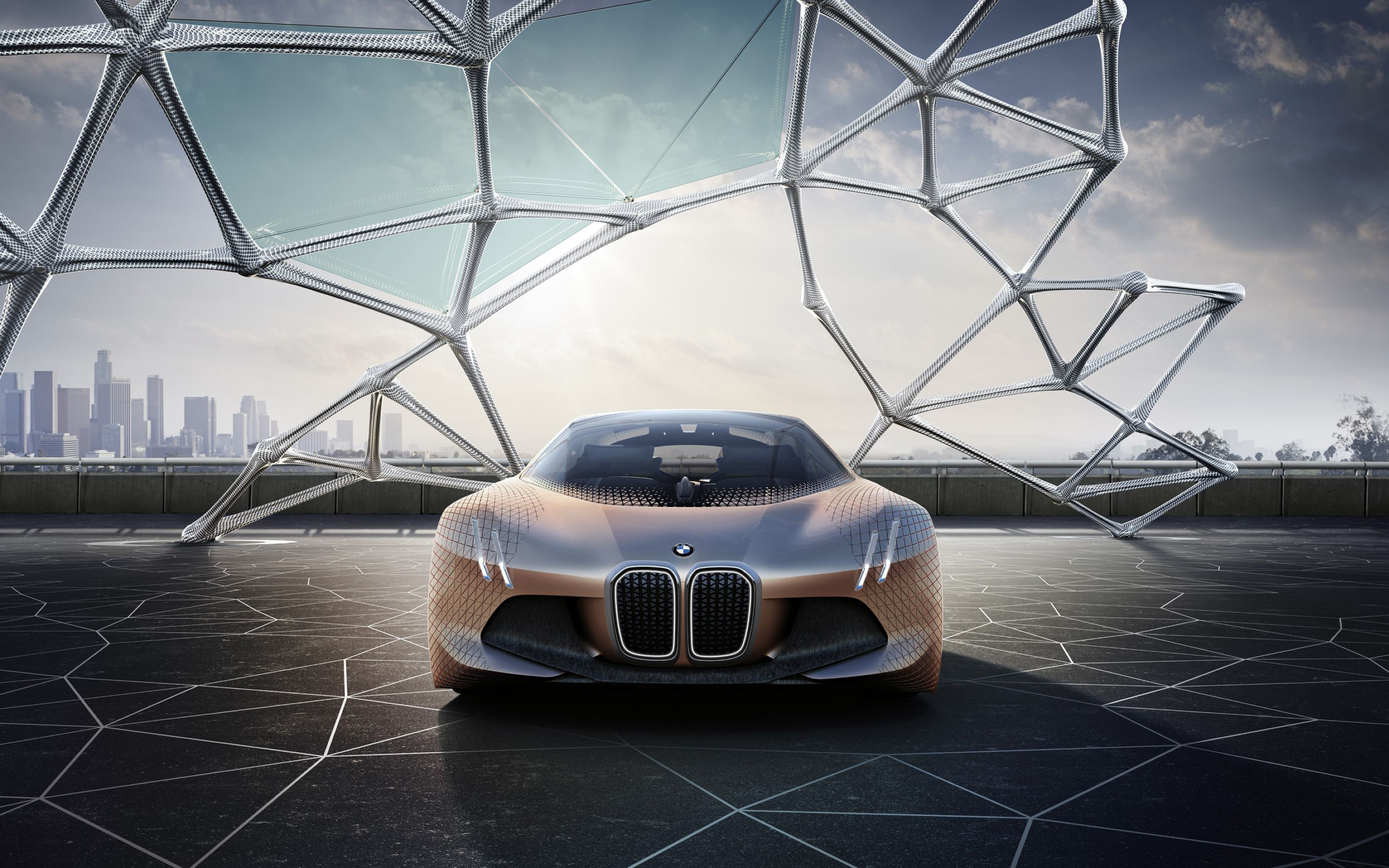 Download free HD BMW Vision Next 100 Concept 4k Wide Wallpaper, image