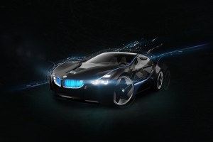 Download BMW Vision Super Car HD Free Wallpaper on dailyhdwallpaper.com