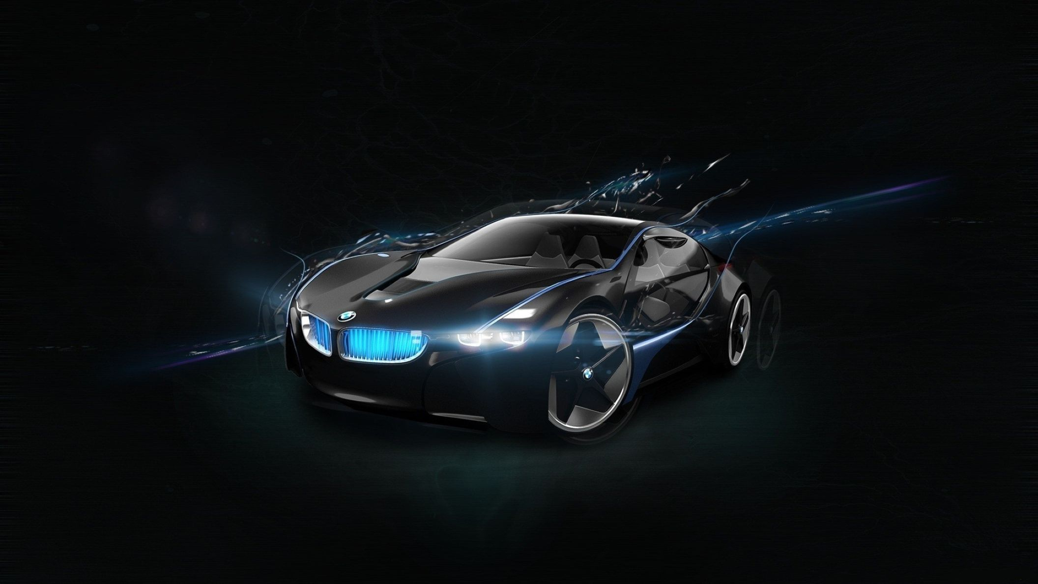 bmw vision super car hd wallpaper: desktop hd wallpaper - download
