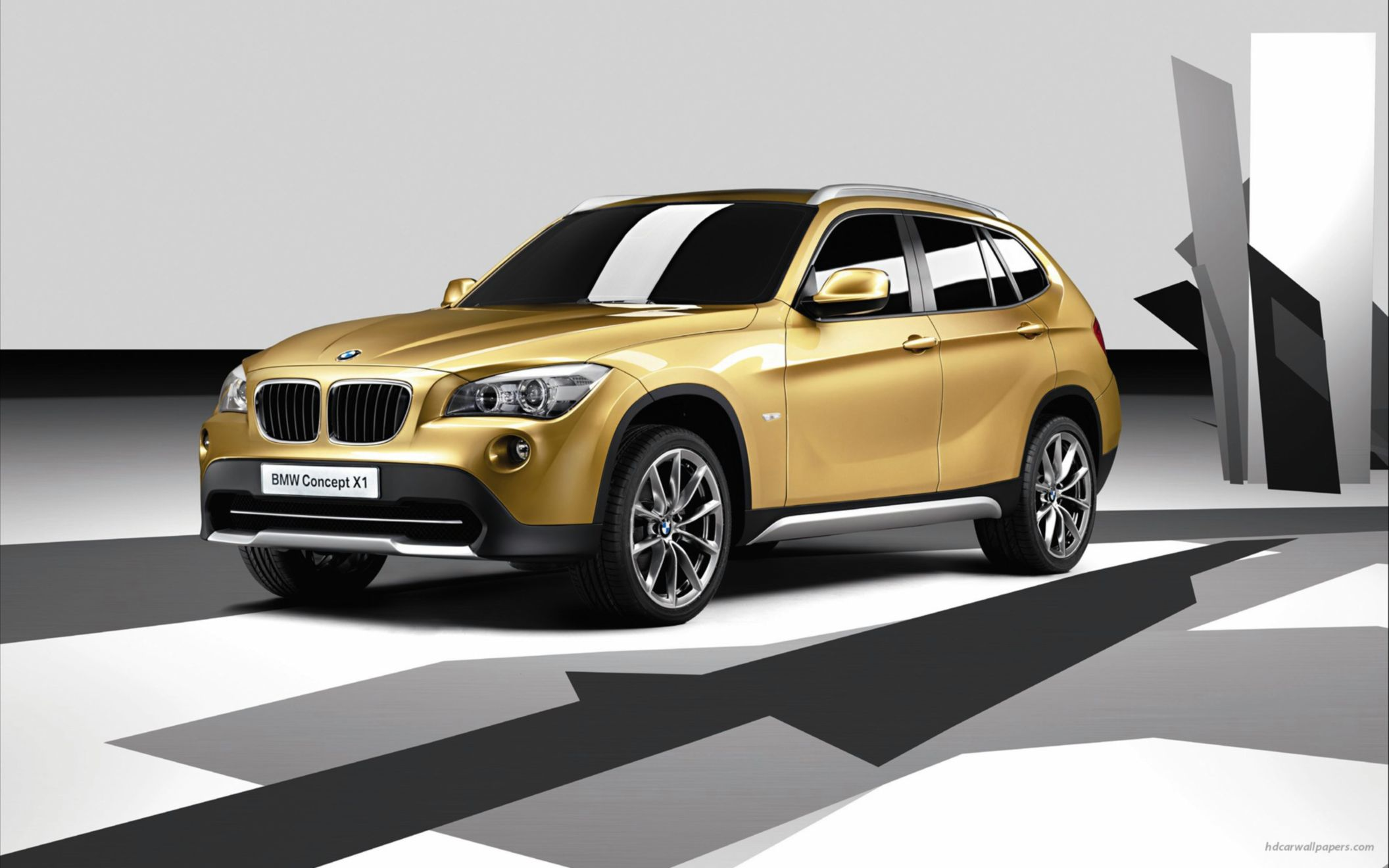 Download free HD BMW X1 Concept 3 Wide Wallpaper, image