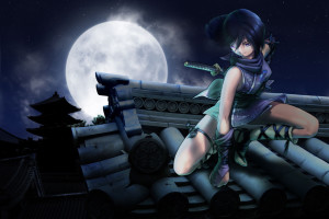 Background Anime 3d Beautiful Download Wallpaper