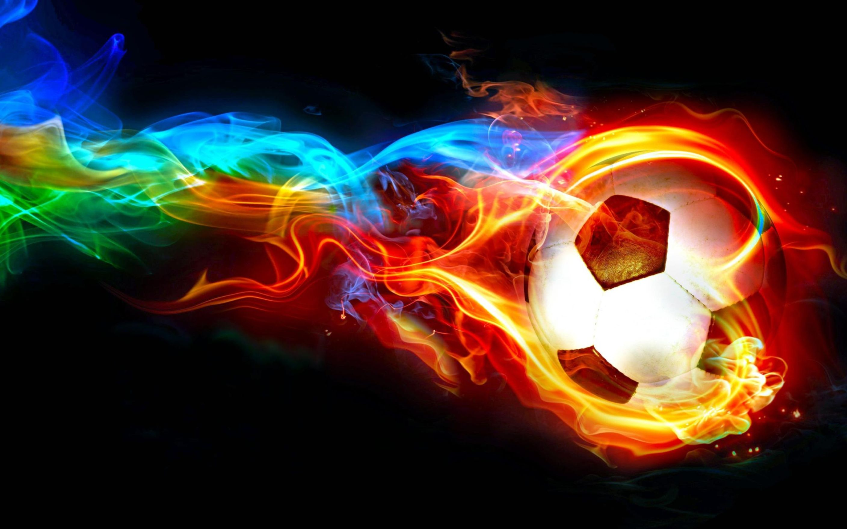 Download free HD Ball in Flames Wallpaper, image