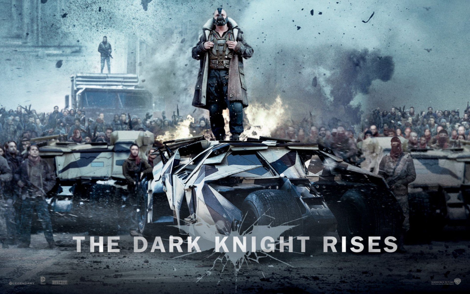 Bane In The Dark Knight Rises Wide Wallpaper