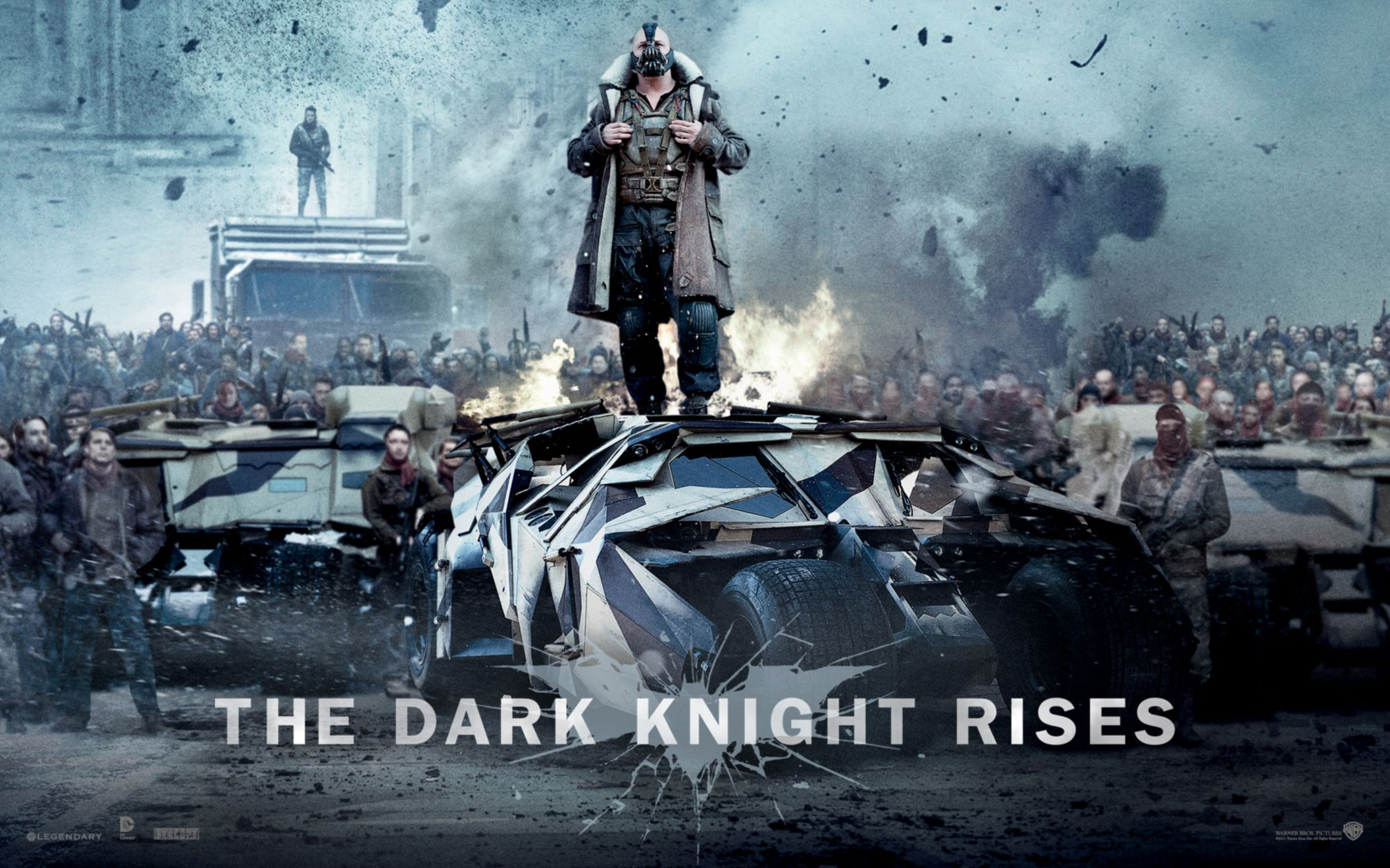 Download free HD Bane In The Dark Knight Rises Wide Wallpaper, image