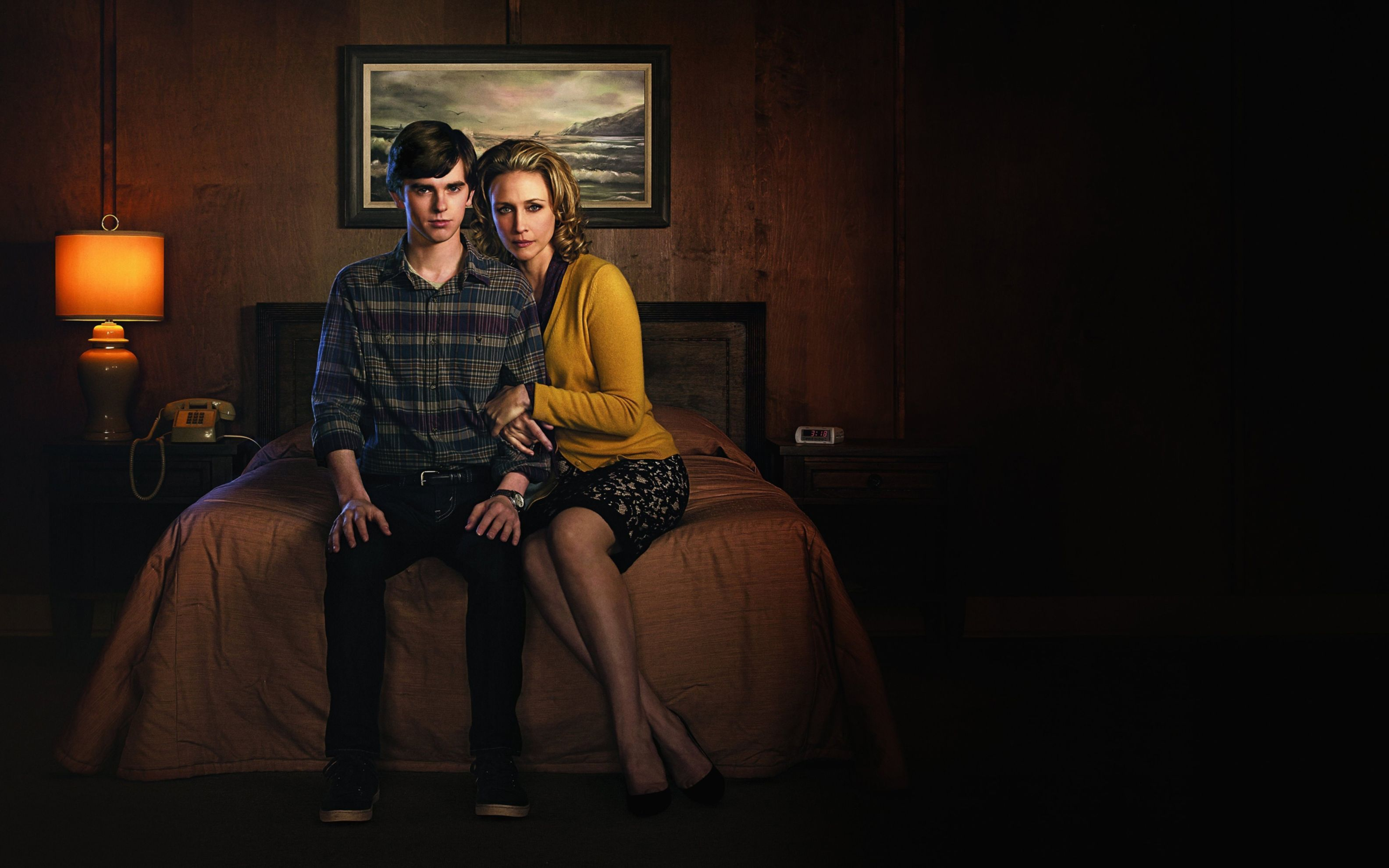 Download free HD Bates Motel 2013 TV Series Wide Wallpaper, image