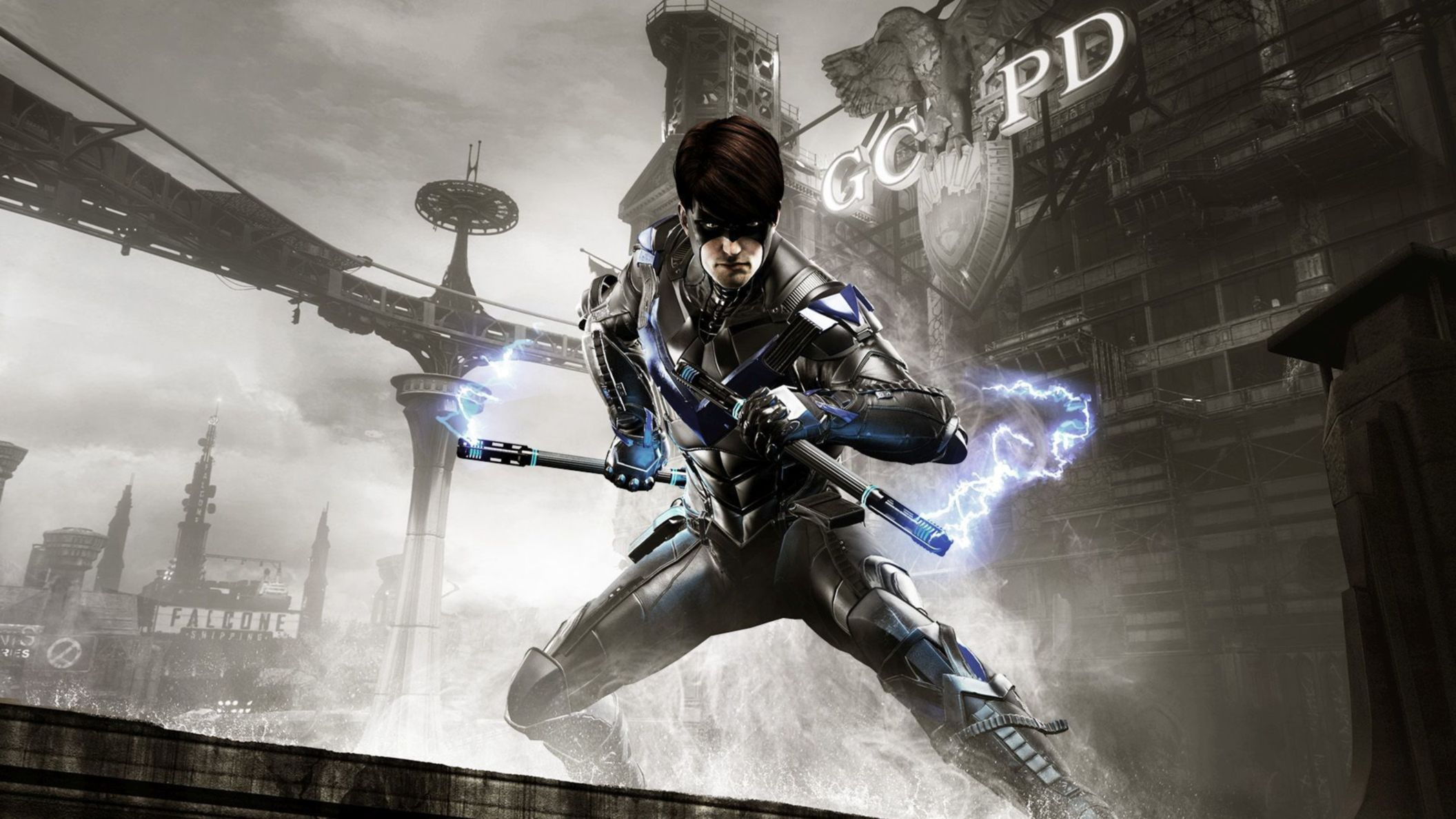 Download free HD Batman Arkham Knight Nightwing HD Wallpaper, image
