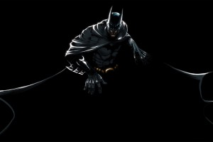 Batman Black Background HD For Desktop Wallpaper