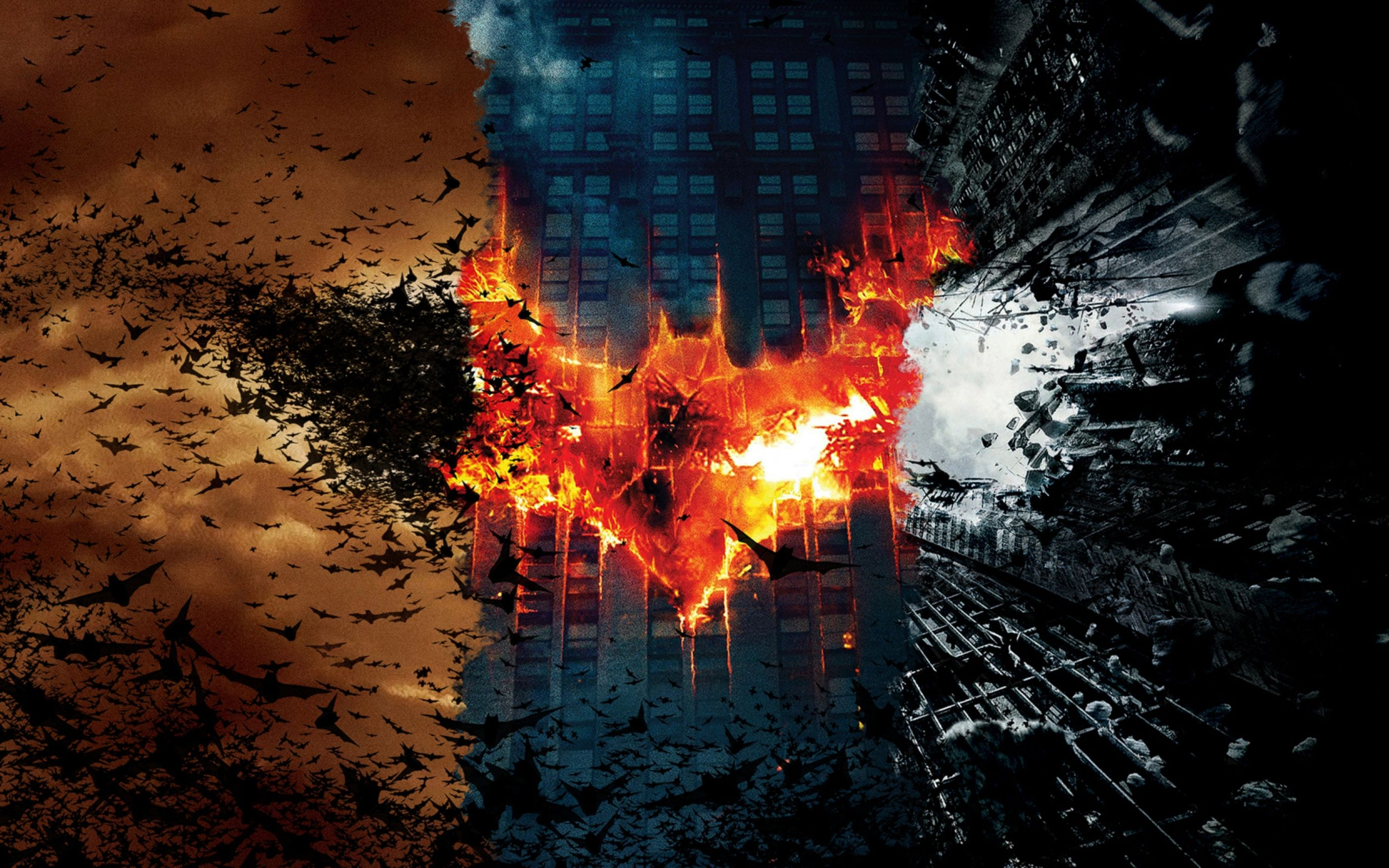 Download free HD Batman Dark Knight Trilogy Wide Wallpaper, image