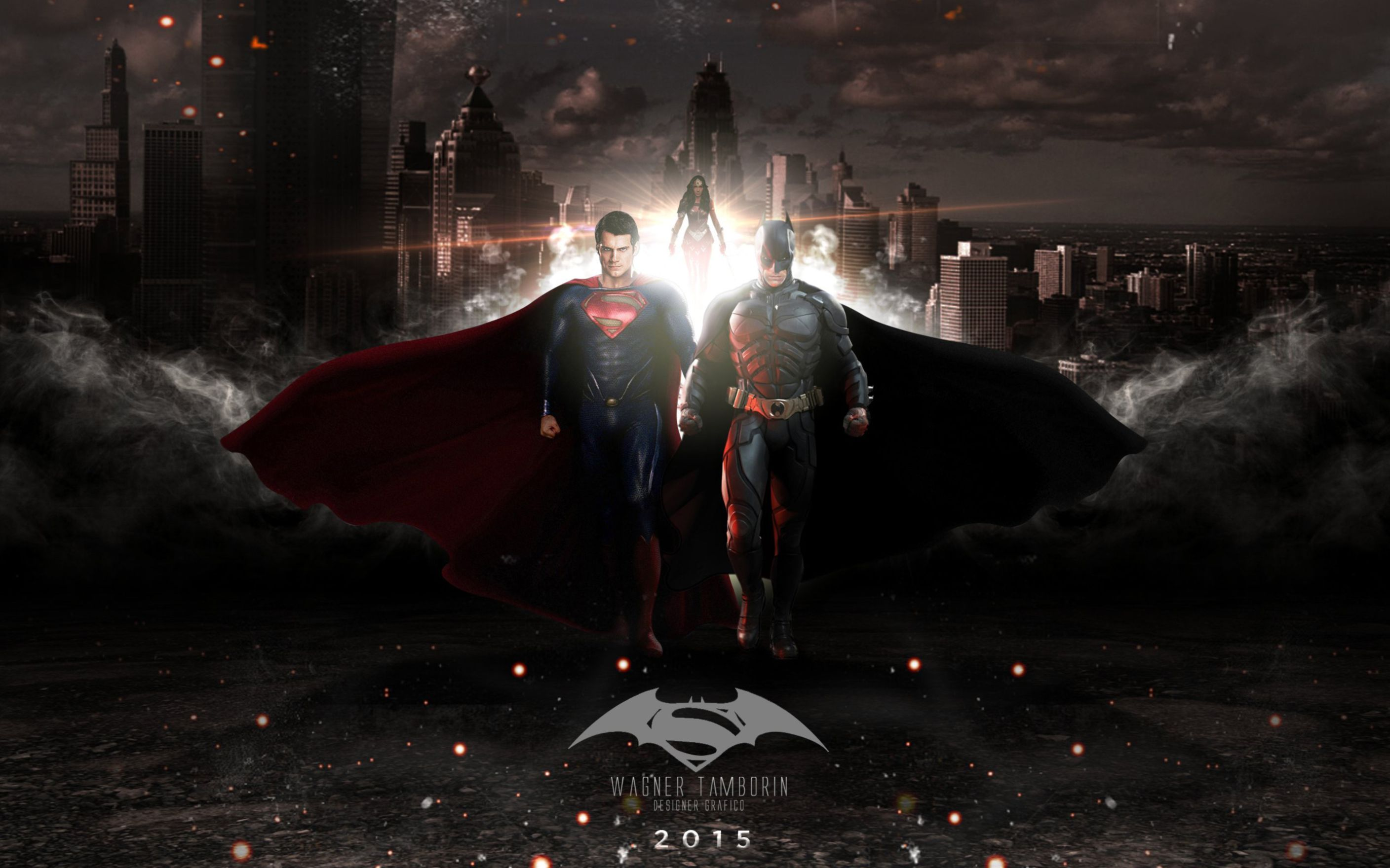 Download free HD Batman V Superman Dawn of Justice 2016 Wide Wallpaper, image