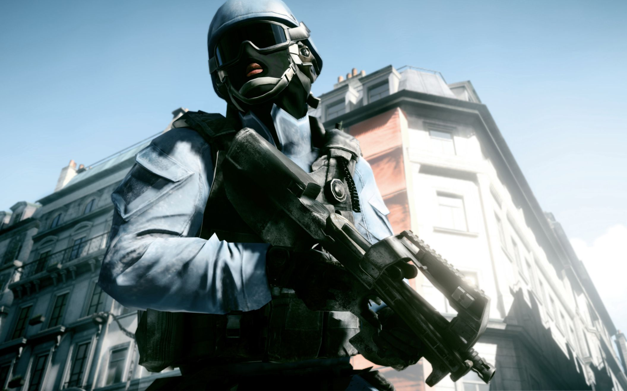 Download free HD Battlefield 3 Paris Wide Wallpaper, image