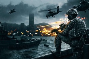Battlefield 4 Siege of Shanghai Wide Wallpaper