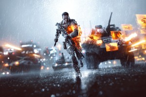 Battlefield 4 The Rainy Day Night City