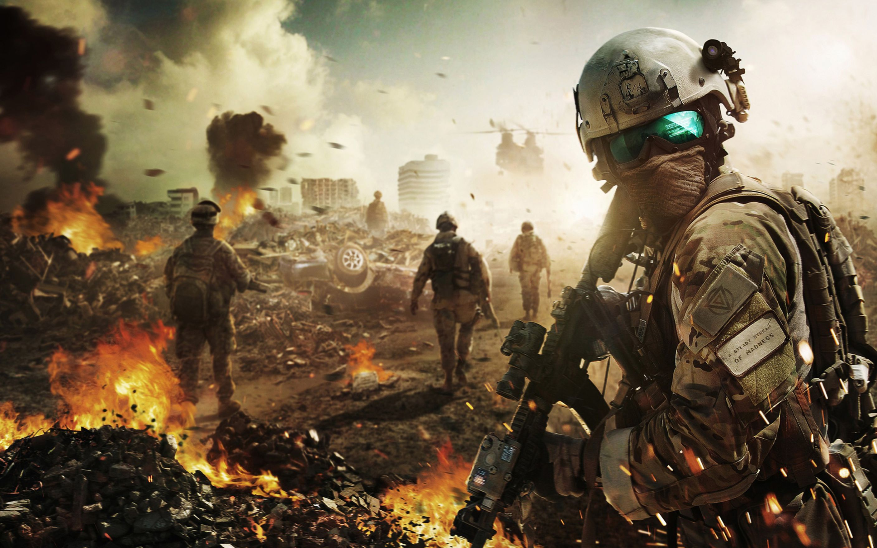 Download free HD Battlefield Soldier Wide Wallpaper, image