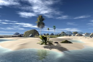 Beach 3d Wallpaper