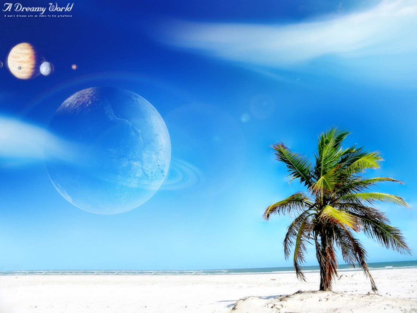 Beach Dreamy World Normal Wallpaper