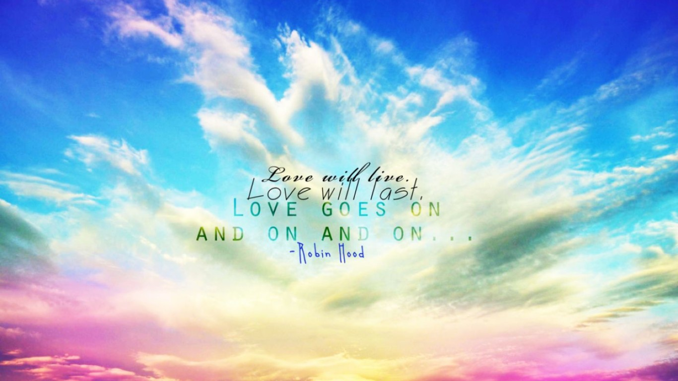 Wallpaper Background About Love : Beach With Quotes Wallpaper: Desktop HD Wallpaper ...