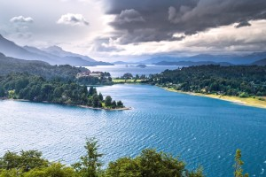 Beautiful Bariloche In Argentinas Patagonia Wallpaper
