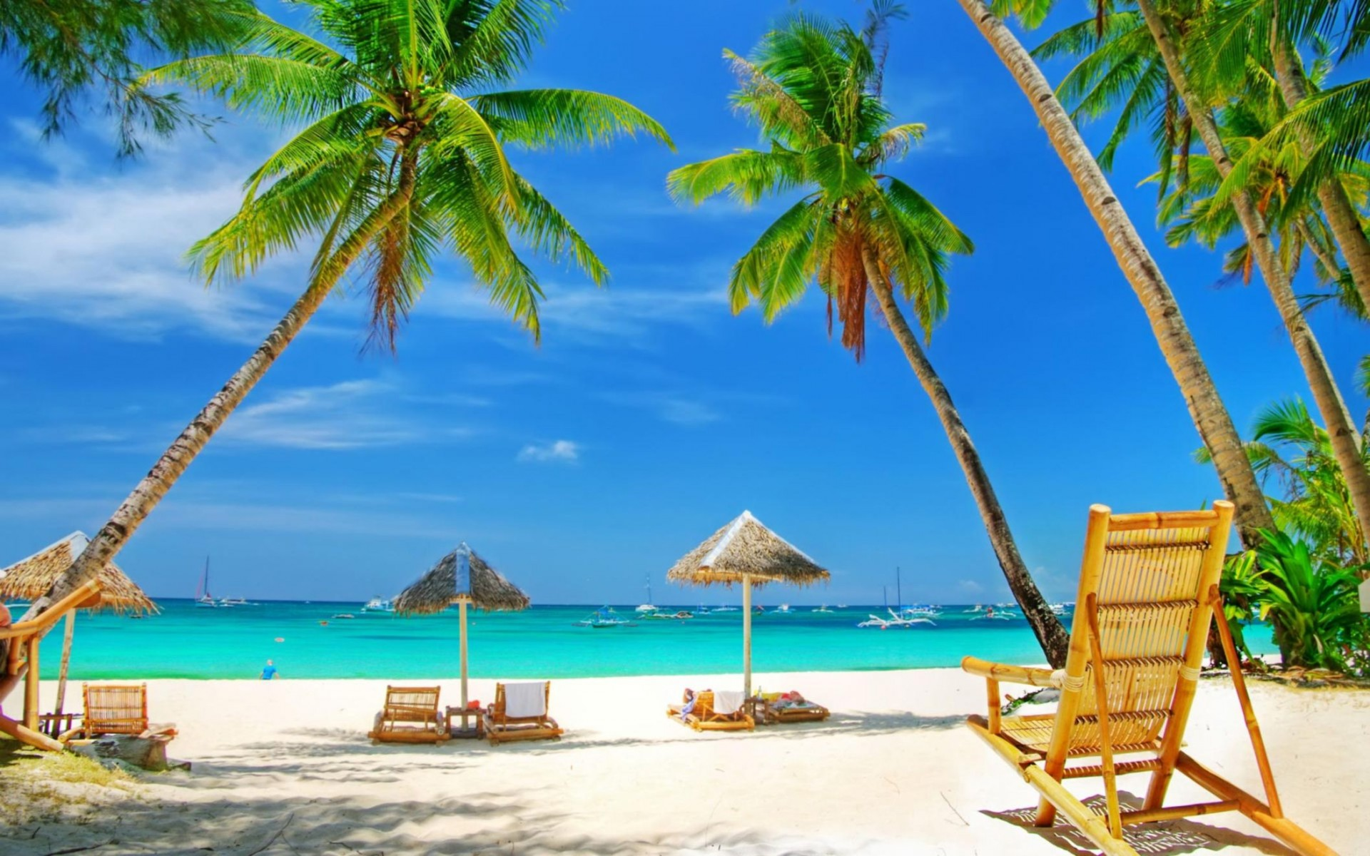 Beautiful Beach Widescreen Wallpaper