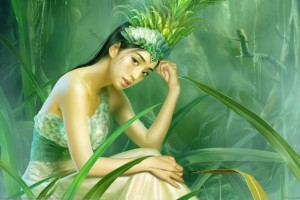 Download Beautiful Girl Animated Art Pictures Wallpaper Free Wallpaper on dailyhdwallpaper.com