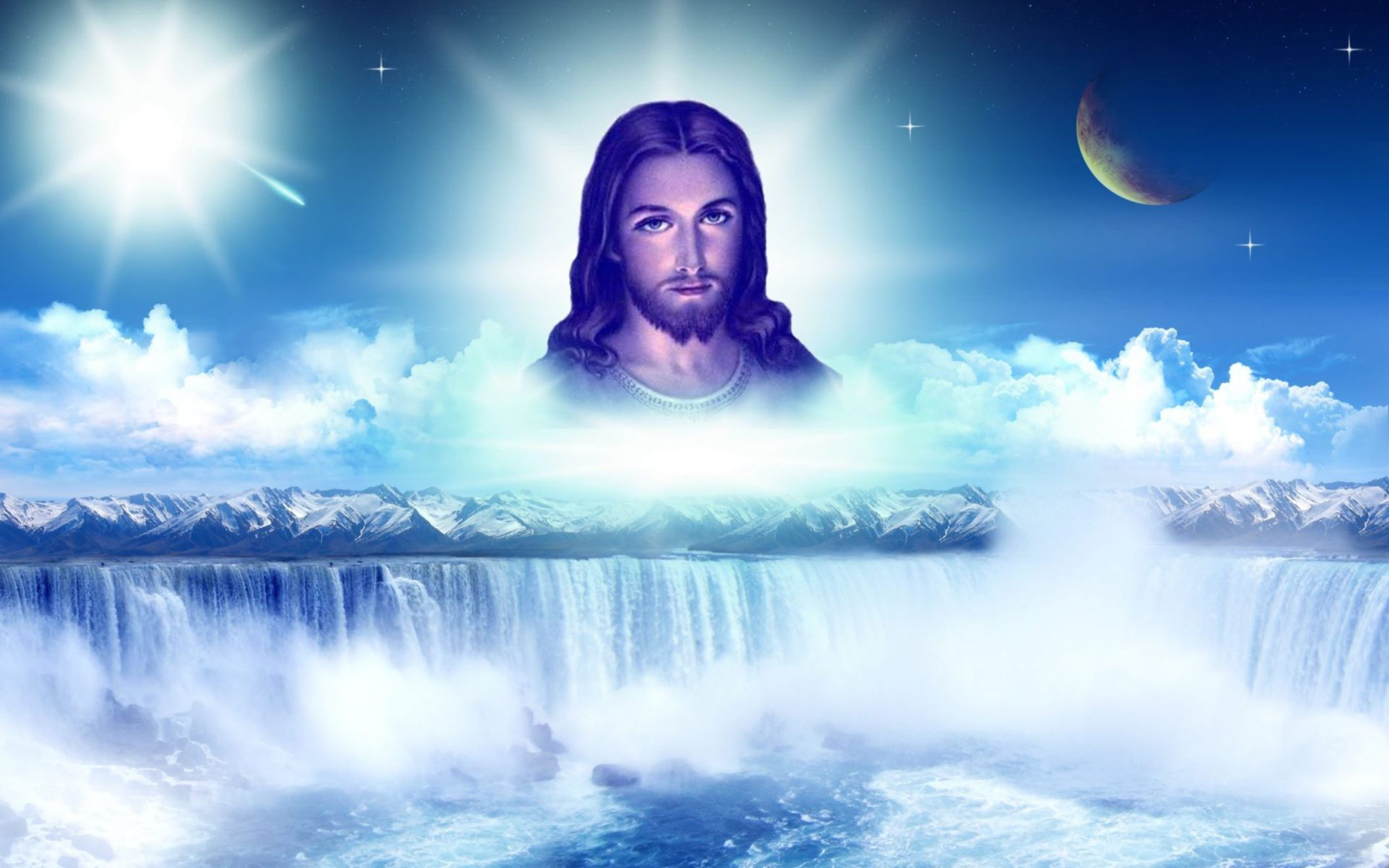 Download free HD Beautiful Jesus High Resolution Wallpaper, image