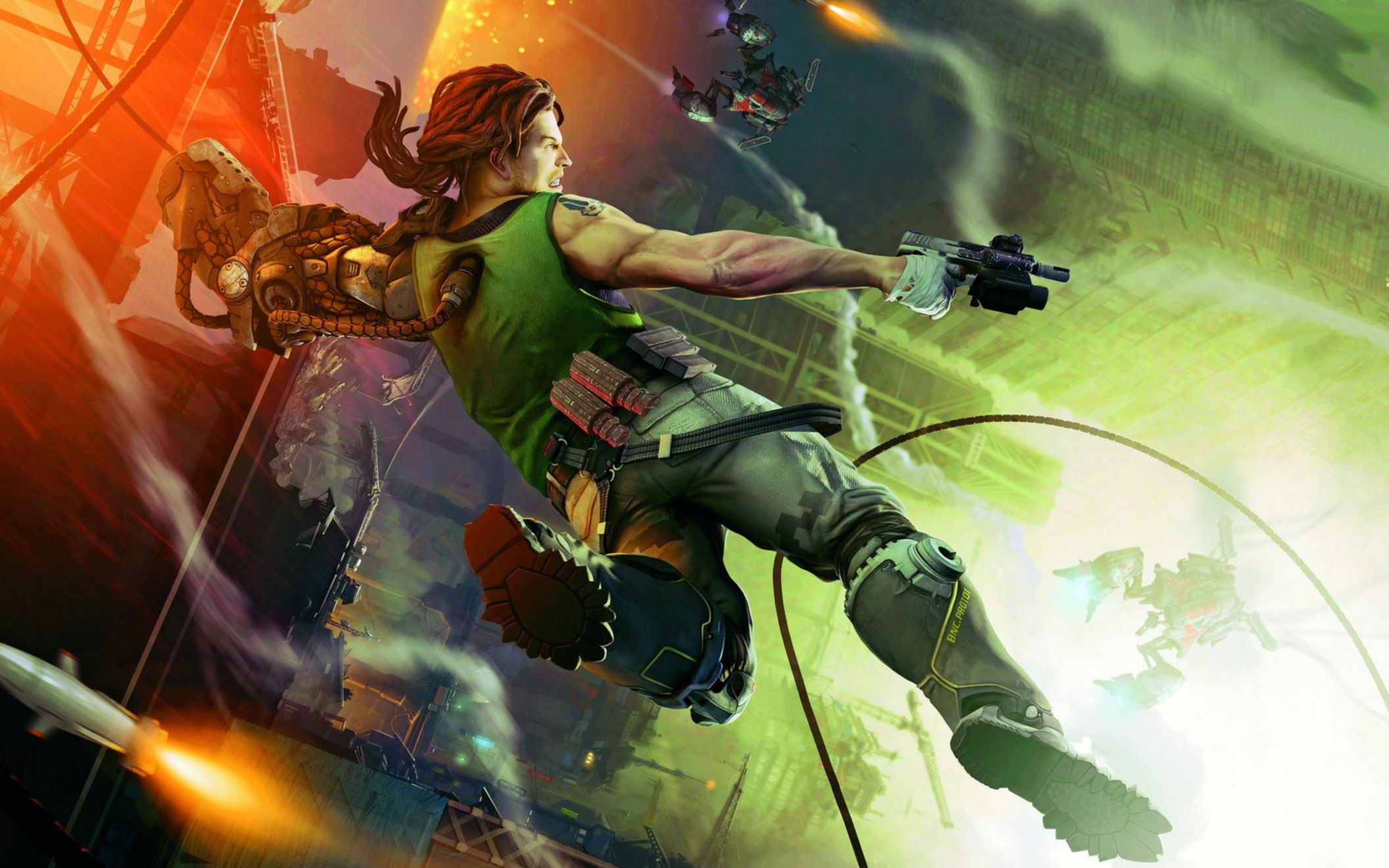 Download free HD Bionic Commando 3 Wide Wallpaper, image