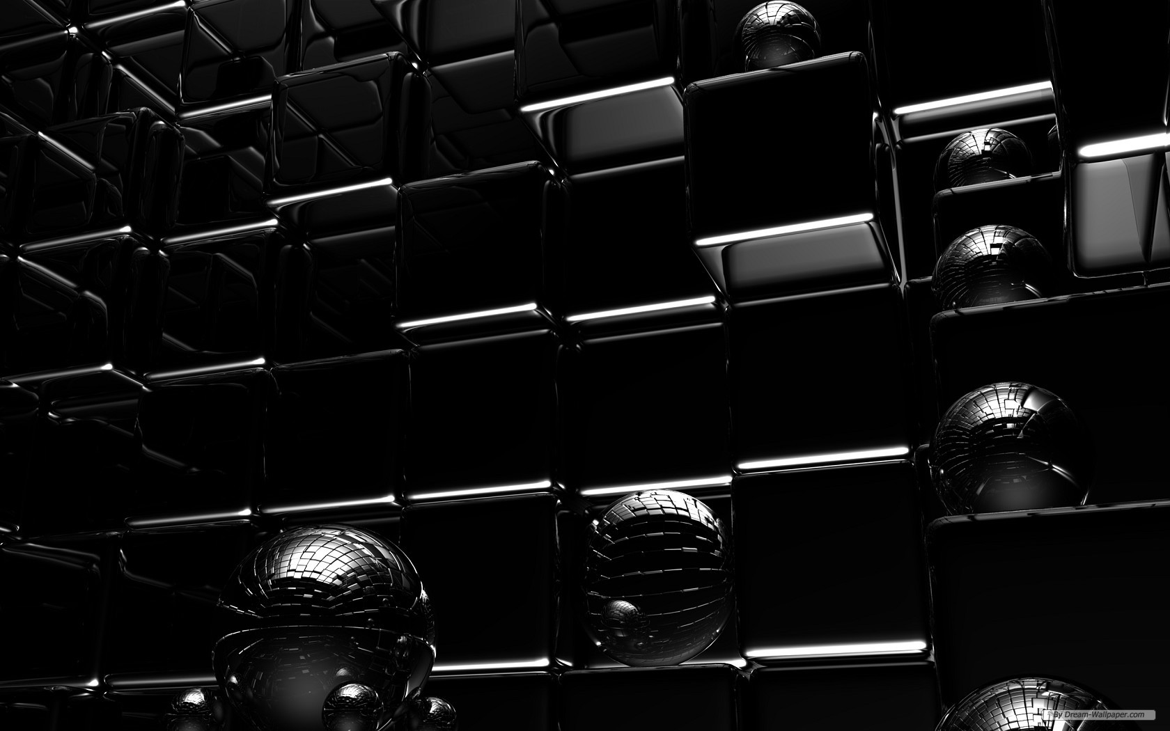 Download free HD Black Background Design 3D Wallpaper, image