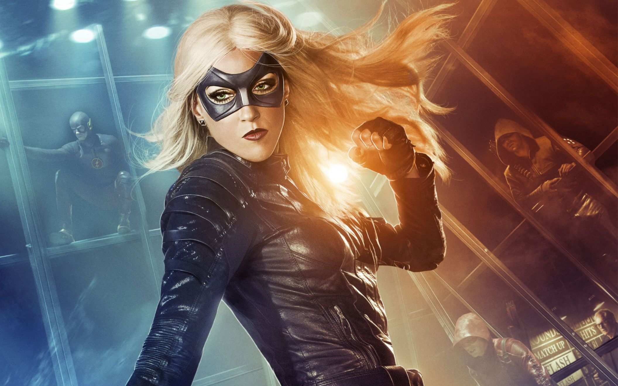 Download free HD Black Canary in Arrow Wide Wallpaper, image