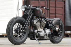 Download Black Harley Davidson Sportster Bobber Wallpaper Free Wallpaper on dailyhdwallpaper.com