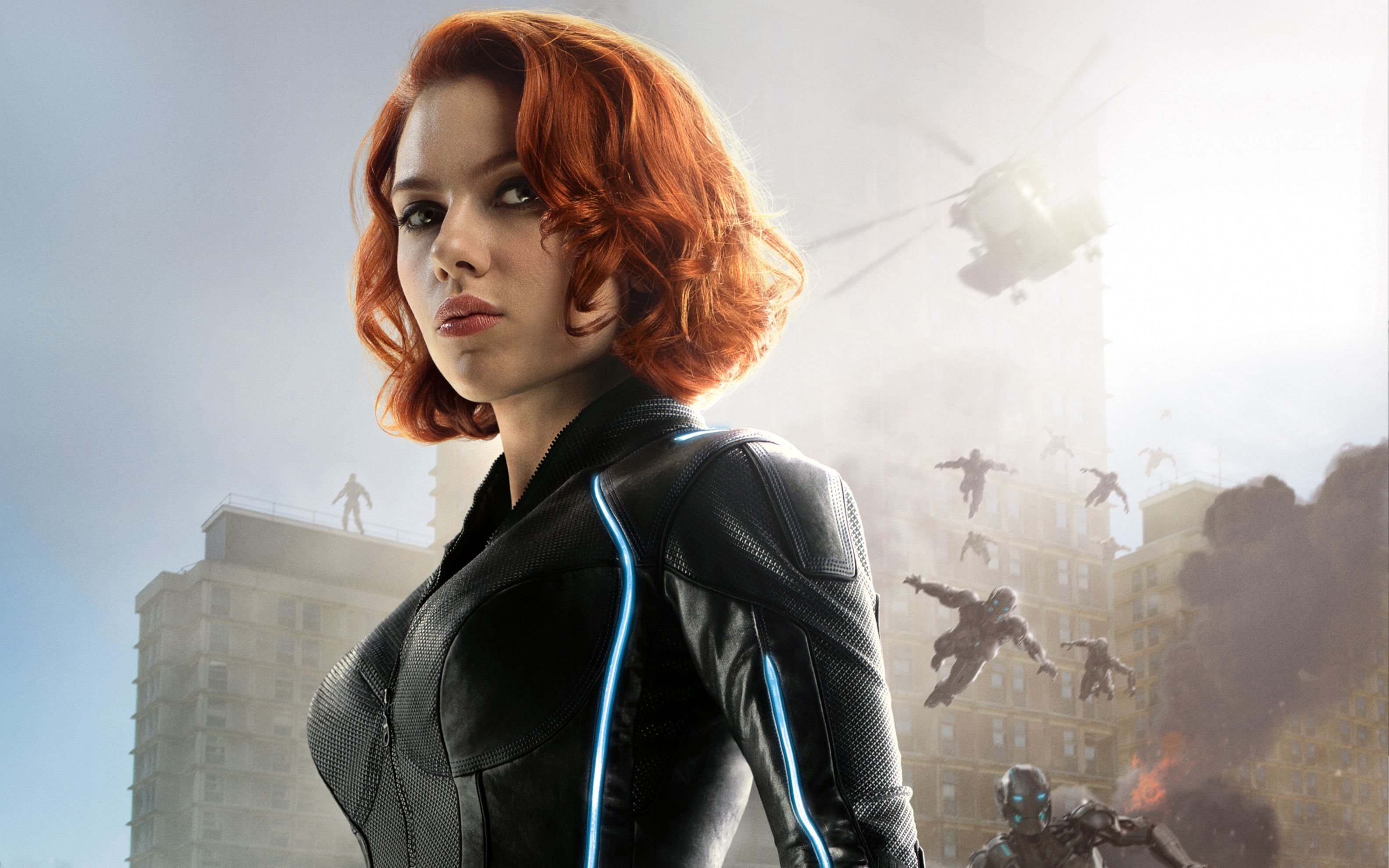 Download free HD Black Widow Avengers Age of Ultron Wide Wallpaper, image