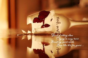 Download Broken Heart Glass Hd Images With Quotes Wallpaper Free Wallpaper on dailyhdwallpaper.com