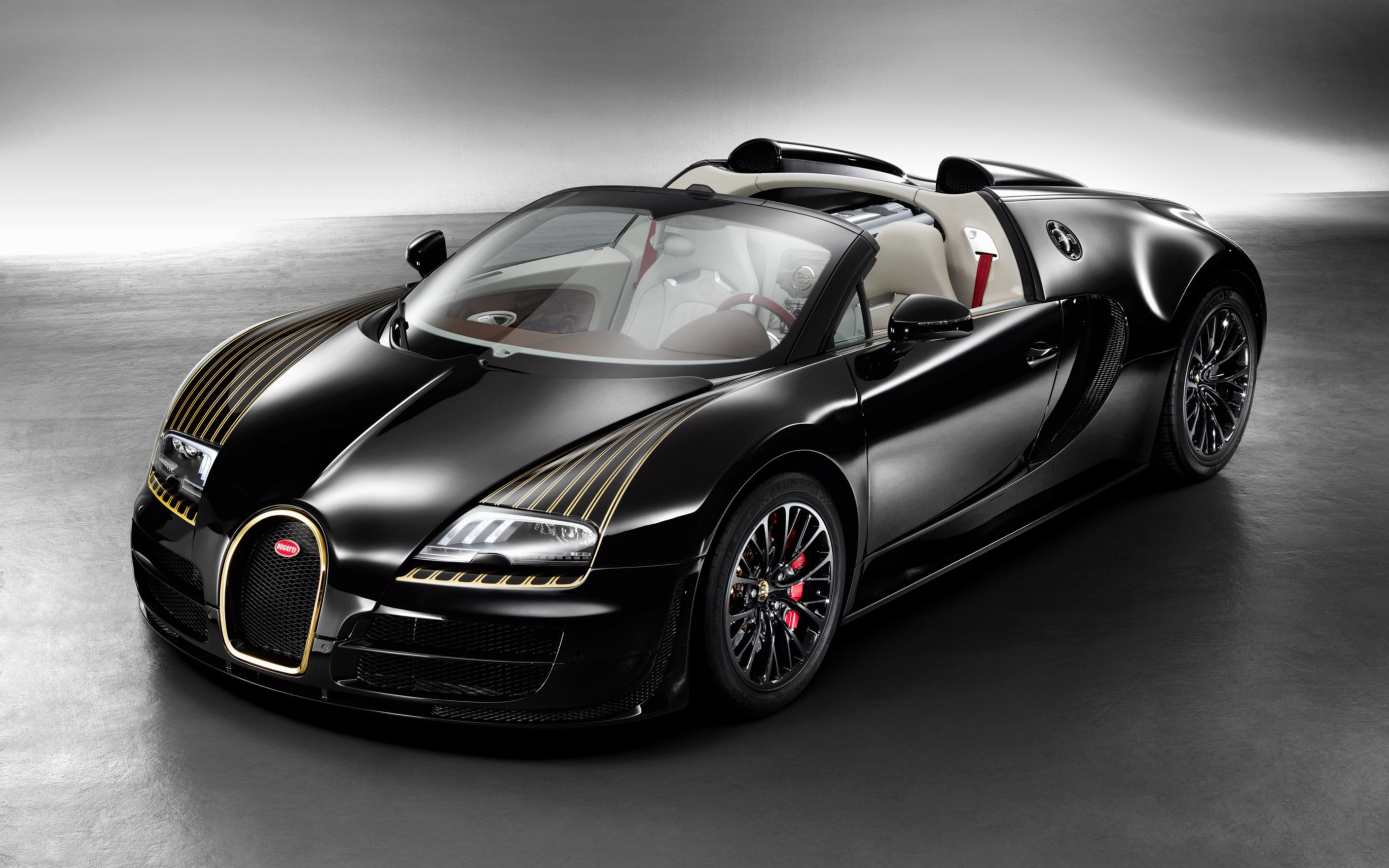 Download free HD Bugatti Veyron Grand Sport Vitesse Legend Black Bess 2014 Wide Wallpaper, image