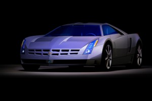 Cadillac Cien Concept Car Wide Wallpaper